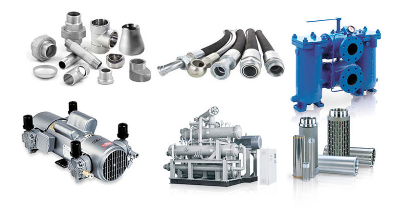 Industrial pneumatic and hydraulic parts supplier